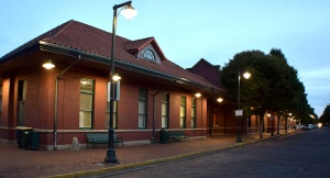 Historic Centralia Train Station