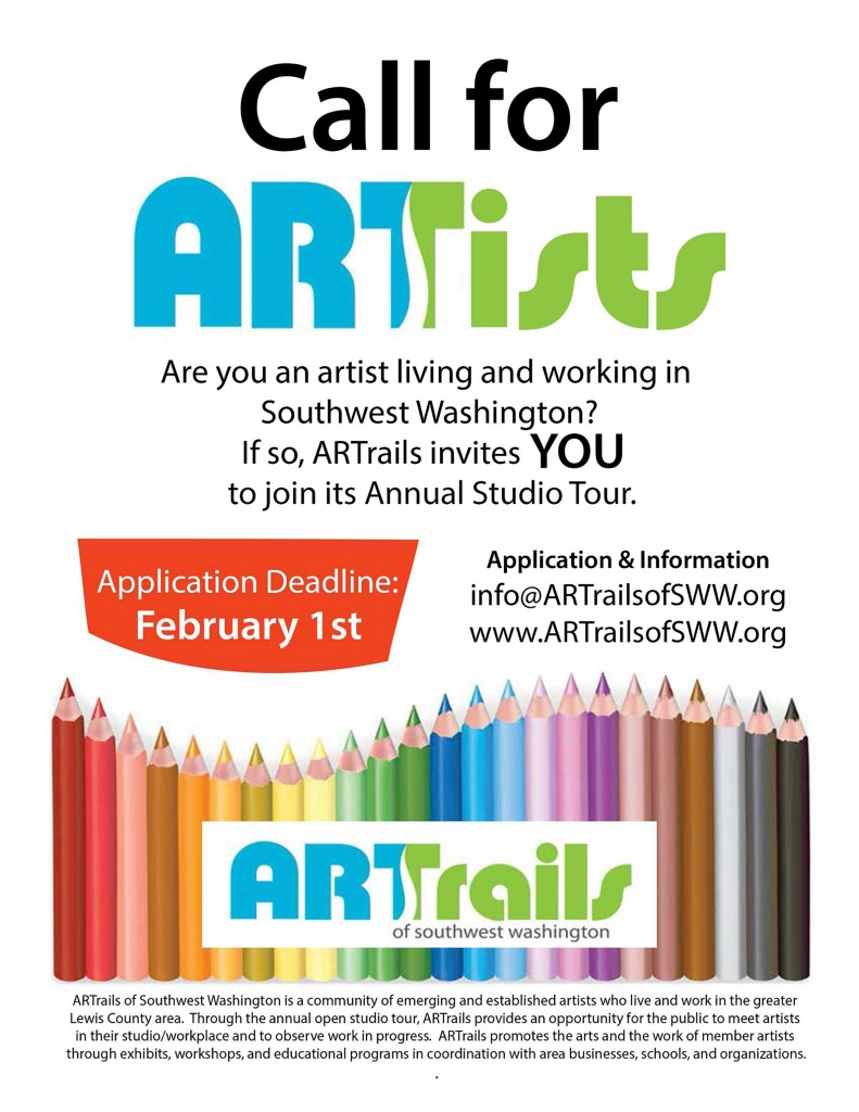 ARTrails of SWW Call for Artists